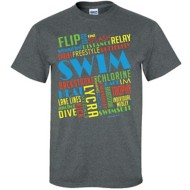 Women's ImageSport Swim Graffiti T-Shirt