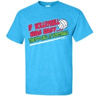 Youth Girls' ImageSport Volleyball If Volleyball Was Easy Short Sleeve Shirt