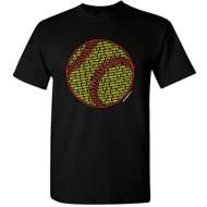 Women's ImageSport Softball Text T-Shirt