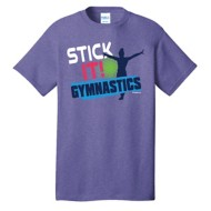 Youth Girls' ImageSport Gymnastics Stick It Short Sleeve Shirt