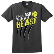 Women's ImageSport Softball Inner Beast T-Shirt