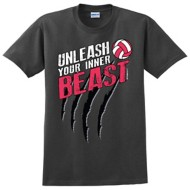 Women's ImageSport Volley Ball Inner Beast T-Shirt