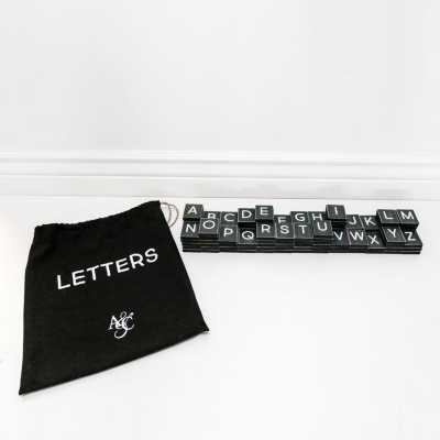 Adams & Co. Letters-112 Pieces
