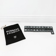Adams & Co. Numbers And Symbols-30 Pieces