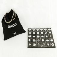 Adams & Co. Emoji-30 Pieces