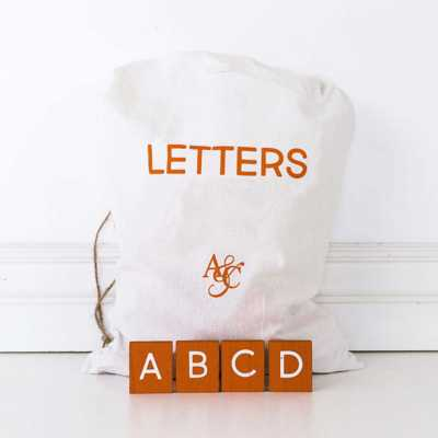 Adams & Co. 70 Piece Pumpkin Letters