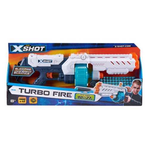 X-Shot Excel Turbo Fire Foam Dart Blaster