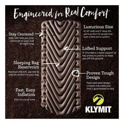 Klymit Static V Luxe XL Sleeping Pad
