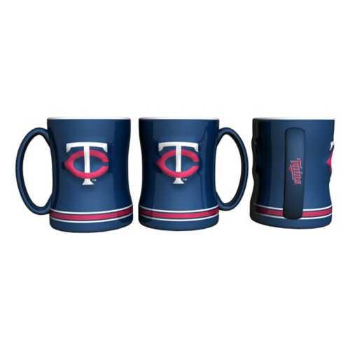Logo Brands Minnesota Twins 14oz. Relief Scultped Mug