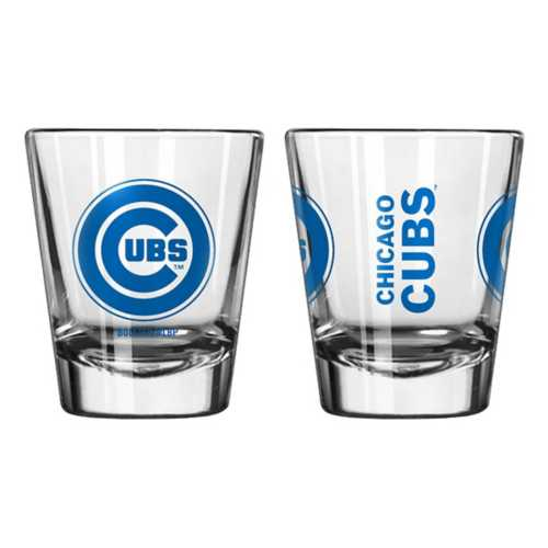 Logo Brands Chicago Cubs 2oz. Etched Logo Shot Glass