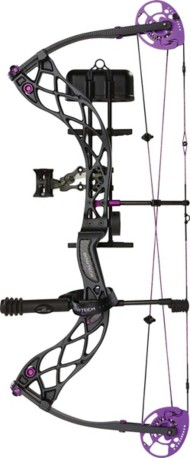 Women's Bowtech Carbon Rose Compound Bow