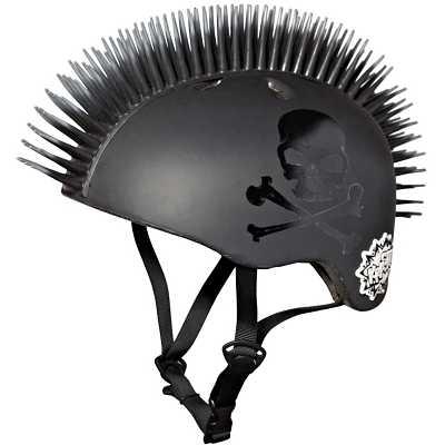 Youth Krash! Jolly Roger Mohawk Helmet