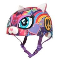 Youth Peace Love Kitty Helmet