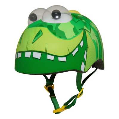 Toddler Raskullz Googly Eyes Dino Helmet