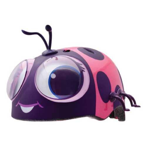 Toddler Raskullz Googly Eyes Lady Bug Helmet