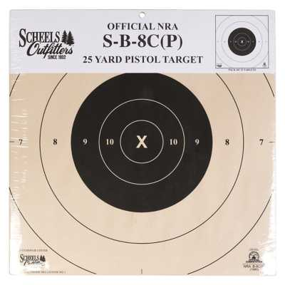 Scheels Outfitters Official NRA 25 Yard Pistol Target 25 Pack