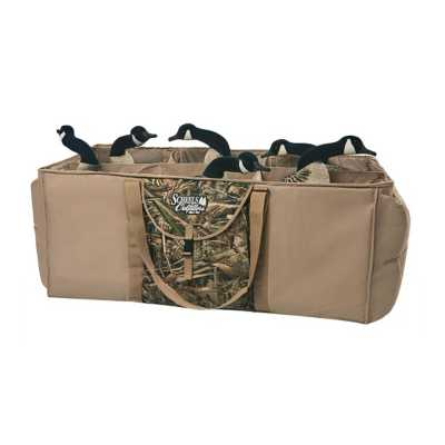 Scheels Outfitters Deluxe 6 Slot Full Body Goose Decoy Bag