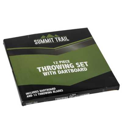 Summit Trail Dartboard With 12 Knives