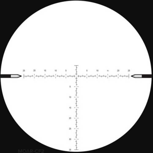 Nightforce NX8 2.5-20x50mm F2 MOAR-CF2 Rifle Scope