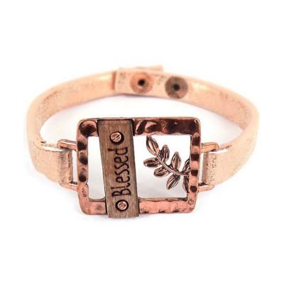 Women's Accessorize Me Rose Gold Blessed Bracelet