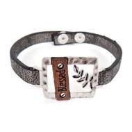 Women's Accessorize Me Hematite Blessed Bracelet