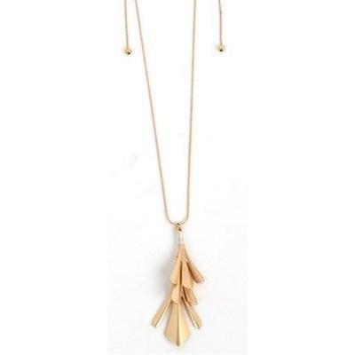 Women's Accessorize Me Gold Pendant Adjustable Necklace