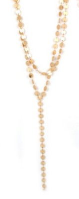 Women's Accesorize Me Double Link Flat Necklace
