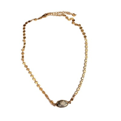 Women's Accesorize Me Mini Flat Link Necklace