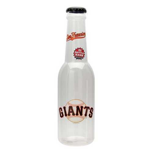 "San Francisco Giants 21""x6"" Bottle Bank"