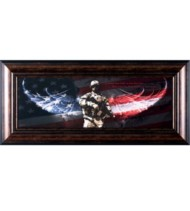Art Effects No Greater Love Soldier Print