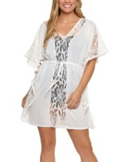 Women's Dotti Caftan Floral Find Cover-Up
