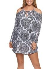 Women's Dotti Dress Positano Tiles Cover-Up