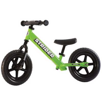 Strider 12 Sport Balance Bike Green Ages 18 Months to 5 Years G
