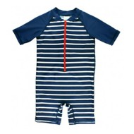 Infant Boys' RuggedButts Stripe One Piece Rashguard