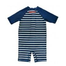 Infant Boys' RuggedButts Stripe One Piece Rashguard