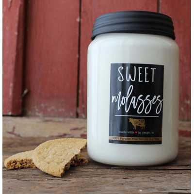 Milkhouse 26oz Sweet Molasses Farmhouse Jar Candle