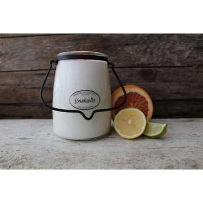 Milkhouse 22oz Limoncellow Butter Jar Candle