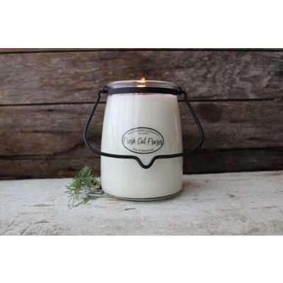 Milkhouse 22oz Fresh Cut Fraser Butter Jar Candle