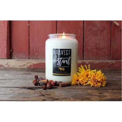 Milkhouse 26oz Harvest Festival Farmhouse Jar Candle