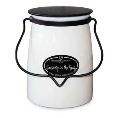 Milkhouse 22oz Dancing In the Rain Butter Jar Candle