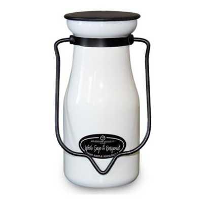 Milkhouse 8oz White Sage & Bergamot Milkbottle Candle