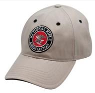 NRA Khaki Circle Logo Cap