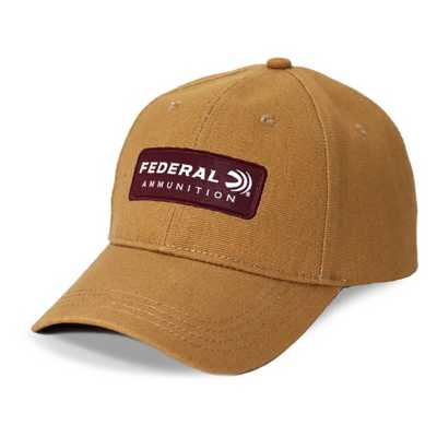 Federal Heavy Canvas Patch Cap