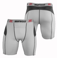 Youth Boys' Marucci Padded Slider Short With Cup