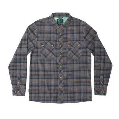 Men's Hippy Tree Baker Flannel Shirt
