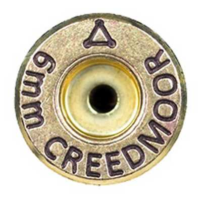 ADG 6mm Creedmoor Unprimed Brass Cases 50 Ct