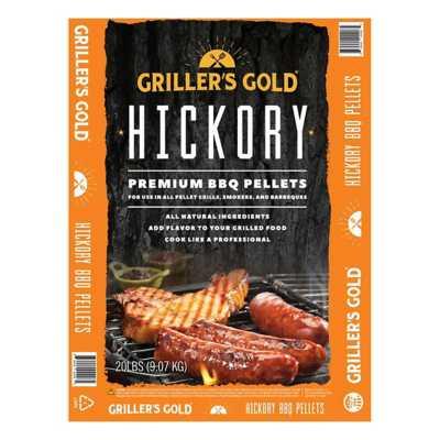 Griller's Gold Hickory BBQ Pellets