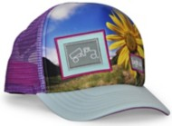 Toddler bigtruck Original Sublimated Flower Power Hat