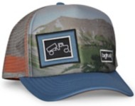 Adult bigtruck Original Outdoor Sublimated Mountain Glow Hat
