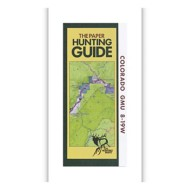 DIY Hunting Maps Colorado Topographic Paper Hunting Guide Map